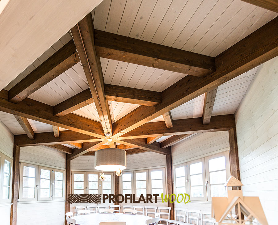 Strutture in legno strutture prefabbricate in legno lamellare for Strutture prefabbricate in legno